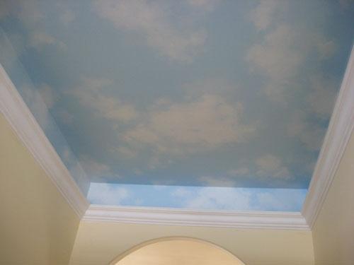 paint ideas for bedroom ceilings - Zieve Studios — Murals